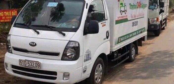 Xe tải vận chuyển hàng 24h giá rẻ hcm