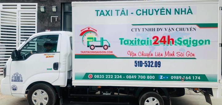 Xe tải chở hàng dọn nhà trọn gói 24h sài gòn