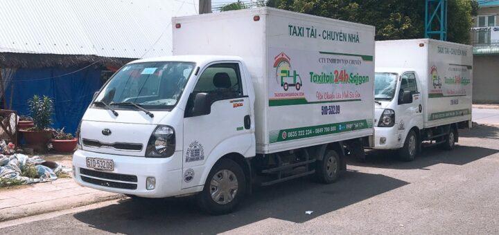 Xe tải nhận chở hàng thuê 24h