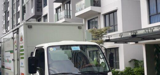 Xe tải nhận chở hàng thuê