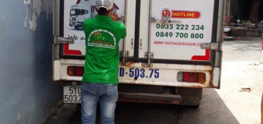 Xe tải vận chuyển nhà hcm