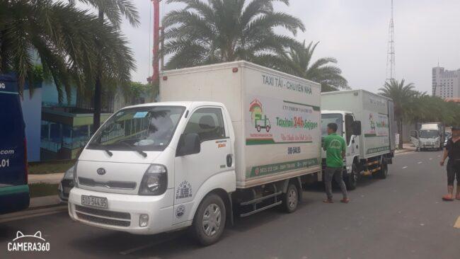 Taxi tải 24h chở hàng
