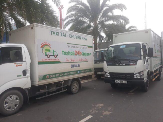 Xe tải vận chuyển hàng hóa 24h