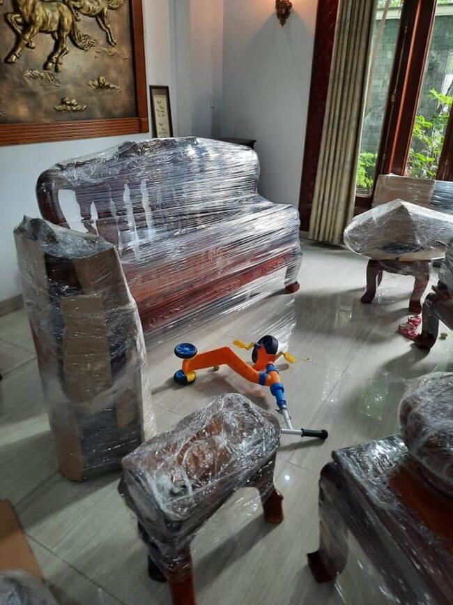 Đóng gói gọn gàng khi chuyển nhà