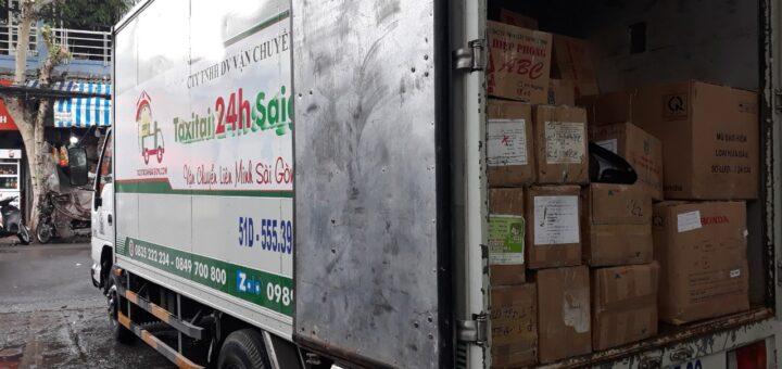 Vận chuyển hàng hóa 24h sài gòn