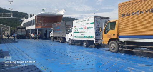 Vận chuyển nhà trọn gói từ tphcm đi phú quốc