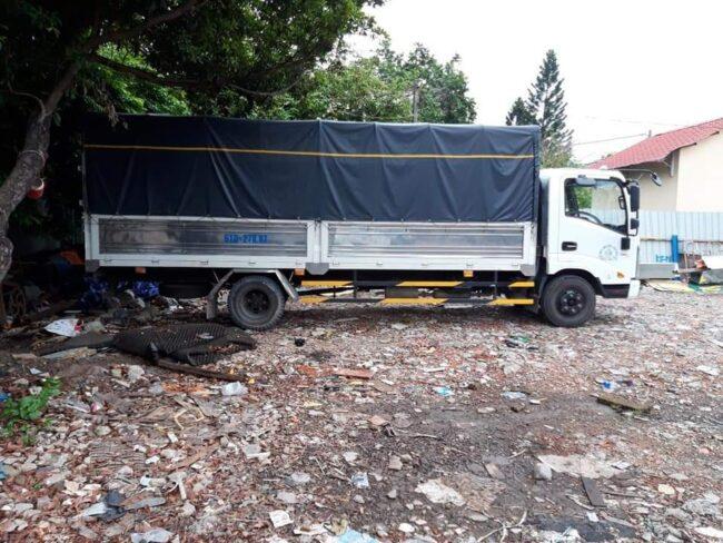 Cho thuê xe tải 2 tấn thùng dài 6 mét