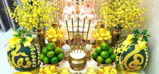 Một số lưu ý khi bài trí bàn thờ Thần Tài